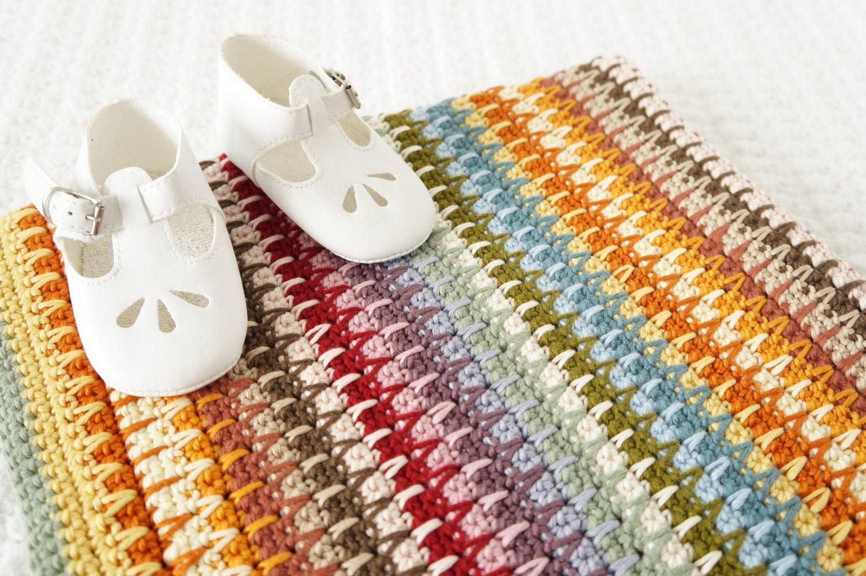 Easy Baby Blanket Crochet Pattern Adult Afghan Including