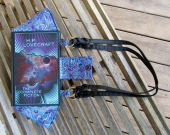 H.P. Lovecraft - The Complete Fiction - Leather bound Book Purse - Made to Order