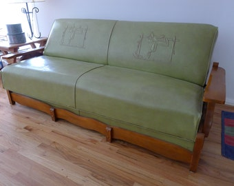 Vintage Couch Bilt Rite Western Furniture Negotiable With