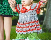 Crocheted BOHO Babe Top with Bloomers