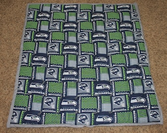 Seattle Seahawks Baby Quilt
