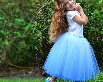 Completely Sewn, Custom 18-inch Long Tutu in Many Colors and Sizes
