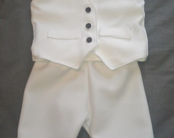 Baby Boy Baptism Outfit, Boy Christening Outfit, Boy Blessing Outfit