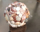 Shell Orb Ball Handmade