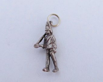 Vintage Sterling Silver Household Cavalry Charm - Buckingham Palace Royal Soldier
