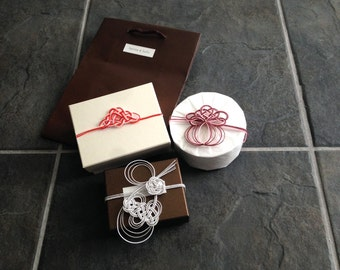 tayuna&bella's Gift wrapping option with Mizuhiki and washi