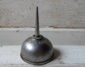 "Oil Can, Metal Oil Can, Miniature, 3"" Tall, Singer, Industrial, Cottage, Lodge, Garage, Mechanic, All Vintage Man"