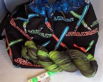 Large Space Wars Gift Package on Max 80/20 SW Merino/nylon Gift Pack