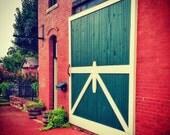 Cottage Barn Door Photo Print