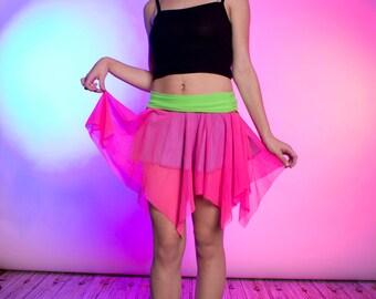 Fluorescent Raver Skirt