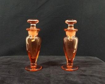 CAMBRIDGE GLASS Co. Perfume Bottles ca. 1930