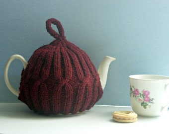 Red Teapot Cozy - Valentine's Day Tea Cosy - Hostess Teapot Cover