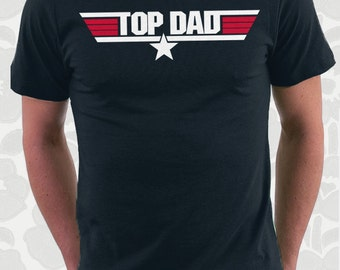 Top Dad Movie T shirt great father's day gift for daddy father papa pop dad movie geek Great Christmas gift