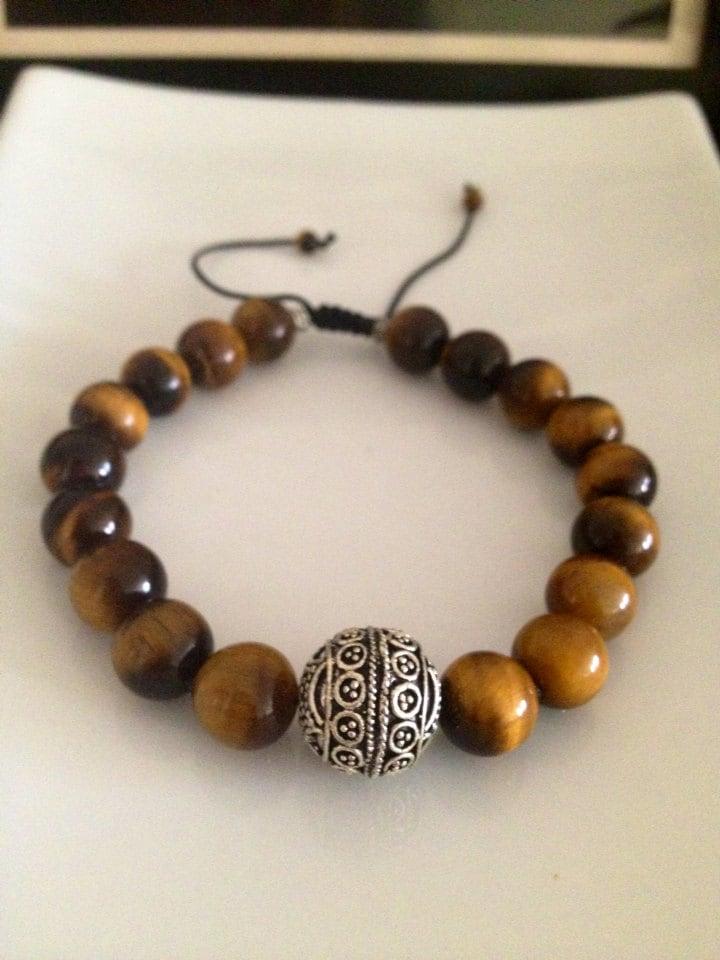 Men S Tiger Eye Bracelet