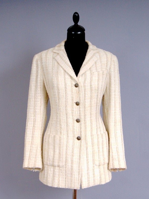CHANEL Paris Timeless Couture Boucle Tweed Jacket