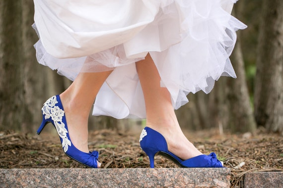 Wedding Shoes Royal Blue Wedding Shoes Blue Bridal Heels