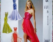 McCall's Misses' Dress And Belt Pattern MP335 (Also Called M6838) - Size 6-14
