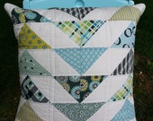 SALE Quilted Pillow Cover