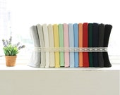 "Ribbing & Binding Cotton Rib Knit - 7.5"" Long - Choose From 15 Colors 60900 - GJ"