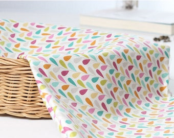 """Colorful Leaves Oxford Cotton - By the Yard (44 x 36"""") 52533"""