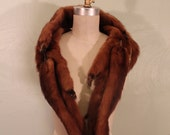 Great 1950s 4 Real Mink Stole