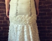 Never Worn Great Gatsby Stye Size 6 Wedding Dress