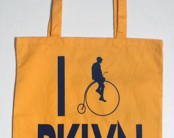 I (Bike) Brooklyn Tote Bag