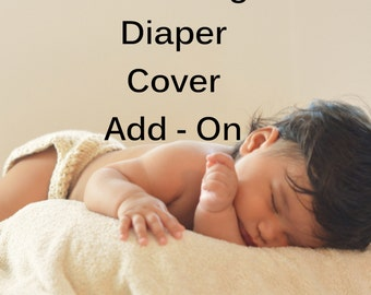 Crocheted Diaper Cover to Match Any Hat