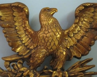 Popular items for eagle home decor on etsy for Eagle decorations home