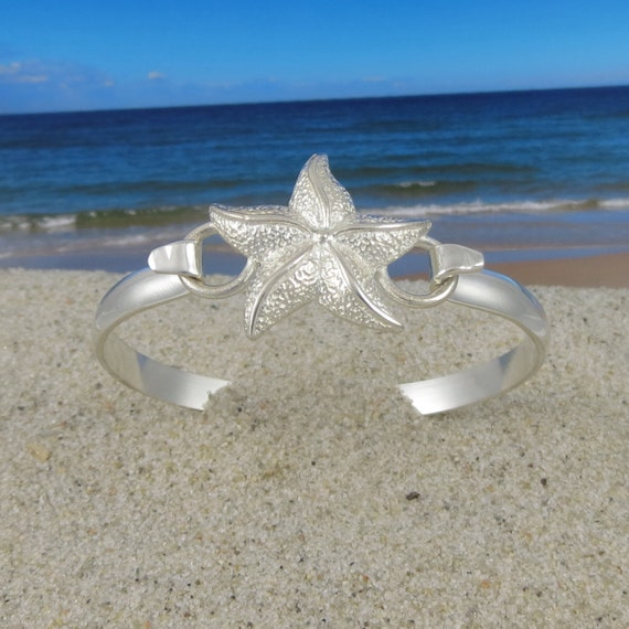 Cape Cod Convertible Sterling Silver Starfish Bracelet
