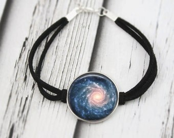 Galaxy Bracelet, Nebula Jewelry, Space Jewelry
