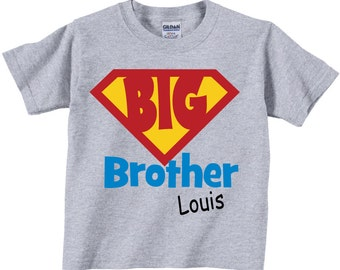 Big Brother Shirts and Big Brother Tshirts for Kids
