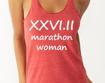 26point2 Marathon Woman Featherweight Running Shirt       Running Tank