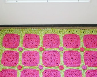 Crochet Pattern Rosslyn : Mandala Crochet Pattern Stool Cover Pillow Cover by ...
