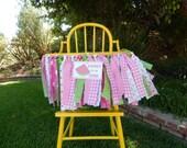 Watermelon Theme fabric high chair banner/ photo prop/backdrop