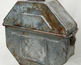 Vintage Film Reel Box Lamp