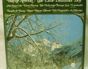 Vintage Christmas Record - The Little Drummer Boy - Vinyl LP 1969 -Dean Martin, Wayne Newton, Nat King Cole, Ella Fitzgerald