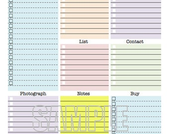 Work day organizer planner page work planner printable for Office planner online