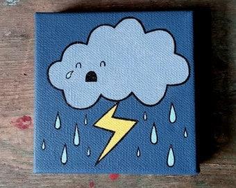Cloud Pee Painting