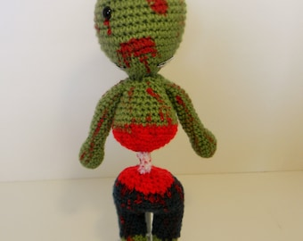 Crochet Boy zombie made to order