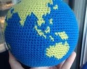 PATTERN Crochet Globe, World, Earth Amigurumi