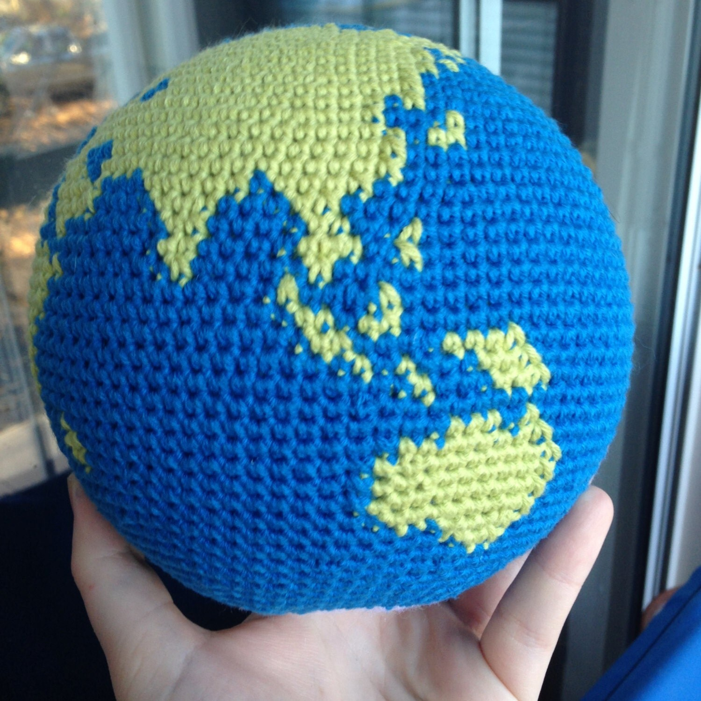Make Japanese Amigurumi Ball : Crochet Globe Pattern, World, Earth Amigurumi from ...