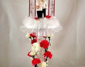 Lighted Gay Male Wedding Cake Topper or Dais Centerpiece, Uniquely Designed, Custom Made and Individually Handcrafted, Item# Wed-03-003B