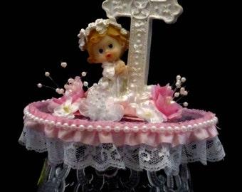 Communion Cake Topper, Item# Com-03-001