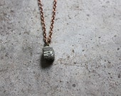 Fools Gold nugget necklace