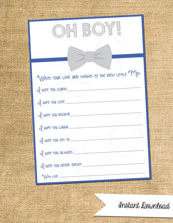 baby shower game wishes for the new baby boy customization not
