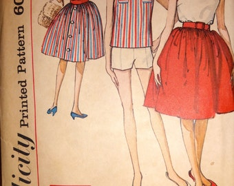 Vintage 60s Simplicity Pattern 4505
