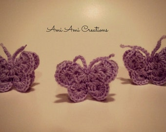 Amigurumi Butterfly Tutorial : PATTERN Bug rattles Butterfly Bee and Caterpillar