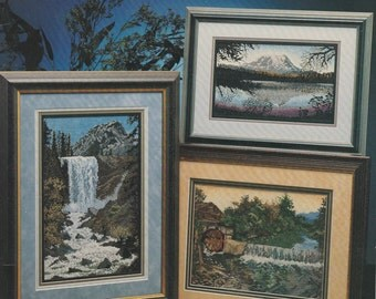 Waterscapes Cross Stitch Book