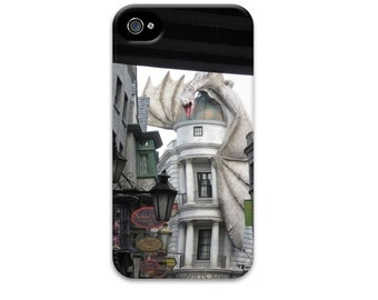 Harry Potter iphone 6 case, Dragon iphone 5 case, Diagon Alley, Gringotts Bank, Hogwarts iphone 4 case, iphone 6 case, iphone se case